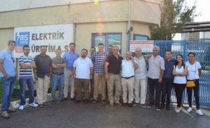 Bis Enerji çalışanları tazminatları için eylem yaptılar