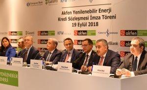 Akfen'e güneş ve rüzgar için 363 milyon dolar kredi