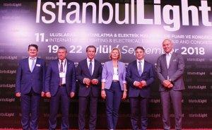 IstanbulLight 2018 Fuarı açıldı