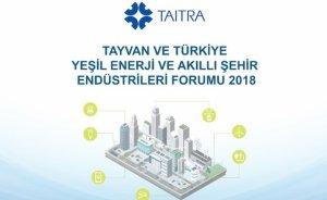 Tayvan ve Türkiye'den yeşil enerji ve akıllı şehir işbirliği