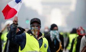 Macron: Protestolar enerji politikamızı değiştirmeyecek