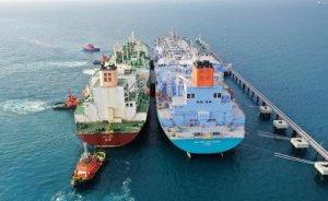 Dev iki gemiden LNG transferi tamamlandı