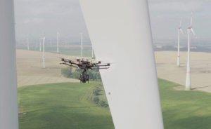Ülke Enerji'den rüzgar türbinlerine dronlu bakım