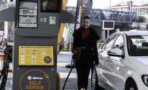 Aytemiz'te self servis ile motorin 20, benzin 15 kuruş ucuz