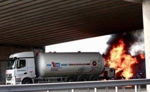 İstanbul'da LPG tankeri kazası!