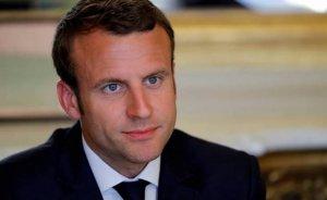 Macron Türkiye'nin Kıbrıs sularında doğalgaz aramasından endişeli