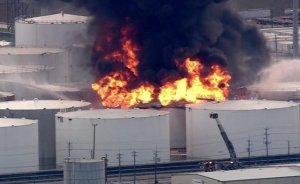 ABD'de rafineri yangını