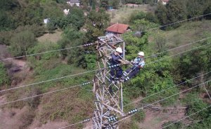 SEDAŞ enerji hatlarının bakım işlerinde drone kullanıyor