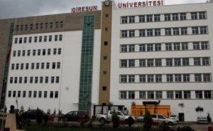 Giresun Üniversitesi YEK uzmanı profesör arıyor