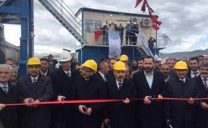 TANAP Ardahan'da asfalt üretim tesisi kurdu