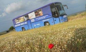 Aygaz Otogaz eğitim otobüsü yola çıktı