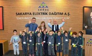 SEDAŞ'tan anaokulu öğrencilerine elektrik dersi