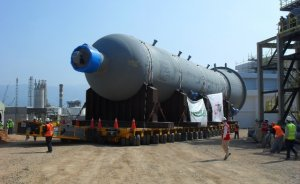 Hareket, Tüpraş'ın 918 tonluk dev reaktörünü taşıdı