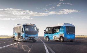 Karsan'ın elektrikli minibüsleri Avrupa yollarında