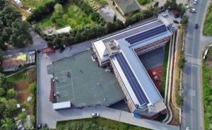 Elektriğini çatısında üreten okul: İNO