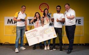 Shell Eco Marathon'un en güvenli aracı Türk öğrencilerden