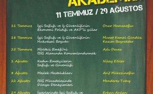 İşçi Sağlığı ve İş Güvenliği Ankara'da masaya yatırılacak