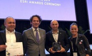 Enerjisa'ya Coğrafi Bilgi Sisteminde Özel Başarı Ödülü