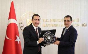MASİS yönetiminden Bakan Dönmez'e sektör raporu