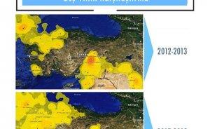 Türkiye SO2 emisyonları en yüksek onuncu ülke