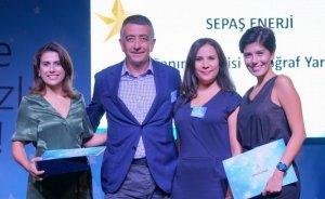 Sepaş Enerji'ye işbirliği geliştirme ve sürdürülebilirlik ödülü
