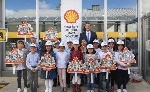 Shell çocukların trafik farkındalığını arttırma projesine katıldı