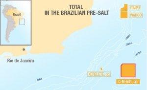 Total ortaklığı Brezilya derin sularında petrol ve gaz arayacak