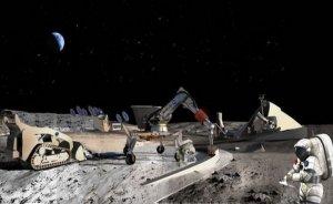 Ay'da madencilik çalışmaları Caterpillar araçlarıyla yapılabilir