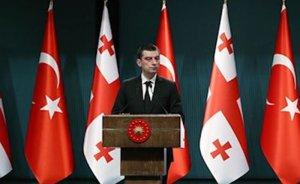Gakharia: Türkiye ile enerji koridorları işbirliğine büyük önem veriyoruz