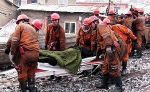 Çin'de kömür madeni patlamasında 15 madenci öldü
