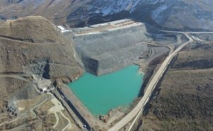Turnaçayırı Barajı yüzde 99 tamamlandı