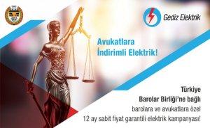 Avukatlara indirimli elektrik