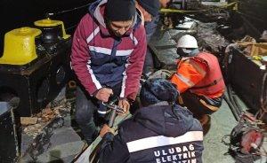 Marmara Adası yeniden elektriğe kavuştu