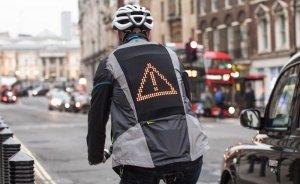 Ford'un LED'li ceketleriyle bisiklet kazaları önlenecek