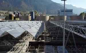 Dünyanın ilk katlanabilir çatı güneş sistemi İsviçre'de
