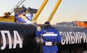 Sibirya'nın Gücü ile Çin'e 840 milyon metreküp gaz gönderildi