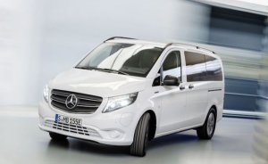 Mercedes'ten yeni elektrikli minibüs modeli