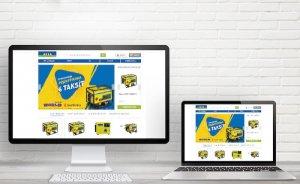 Aksa jeneratör satışını internete taşıdı