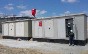 Havalimanı'ndaki sahra hastanesinin enerjisi Trafo1920'den