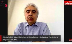 Birol: Talebin düşmediği tek teknoloji yenilenebilir enerji