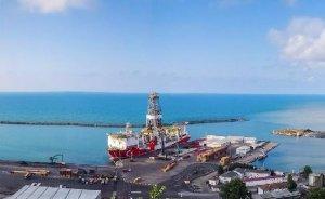 Fatih Sondaj Gemisi Trabzon Limanı'ndan ayrıldı