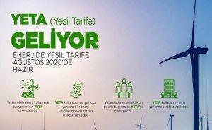Elektrikte yeşil tarife geliyor