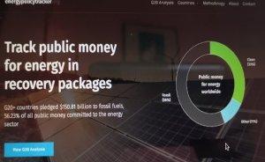 G20 kamu desteklerinin yüzde 56'sı fosil yakıtlara verildi