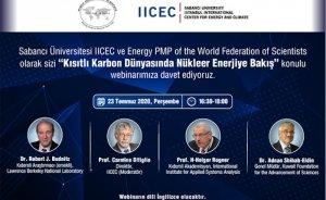 Sabancı Üniversitesi nükleer enerji webinarı düzenleyecek