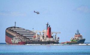 Morityus açıklarında 1000 ton petrol denize döküldü
