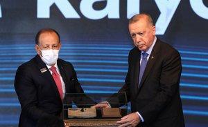 Kalyon Güneş Teknolojileri Fabrikası törenle açıldı