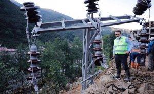 Giresun'da selden etkilenenlerin elektrik faturaları ertelenecek
