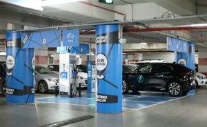 Eşarj istasyonlarında yüzde 100 yenilenebilir enerji kullanılıyor