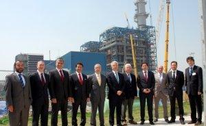 GS Başkanı Aysal`ın Yeni Elektrik Santrali test aşamasında