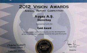 Aygaz'ın Faaliyet Raporu'na uluslararası ödül